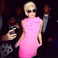 Lady Gaga Wears Pink Outfit And Rocks It Megan Fisher Freelance Journalist